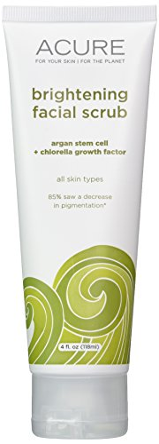 411HVY-8QBL Acure Brilliantly Brightening Facial Scrub, 4 Ounces (Packaging May Vary)