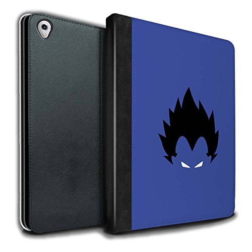 - STUFF4 PU Leather Book/Cover Case for Apple iPad Pro 9.7 Tablets/Vegeta Inspired Design/Anime Fighters Collection