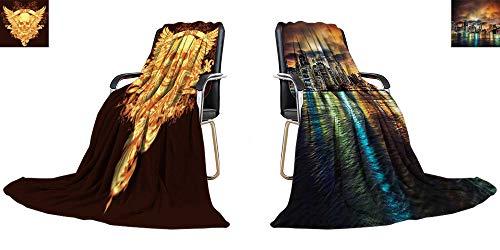 YOYI-home Digital Printing Blanket Vector t Shirt Design Custom Design Cozy Flannel Blanket 62