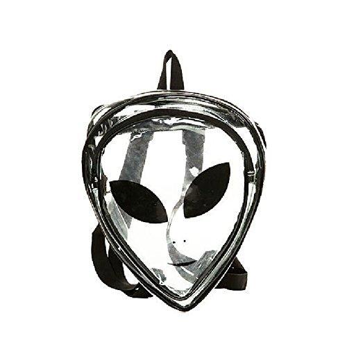 (Zarapack Women's PVC Transparent Backpack Clear Bag)
