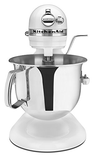 KitchenAid Professional 6000 HD KSM6573CWH Stand Mixer, 6 Quart, White