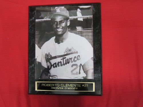 Roberto Clemente Puerto Rican League Collector Plaque w/8x10 RARE -