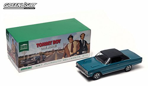 (1967 PLYMOUTH BELVEDERE GTX CONVERTIBLE from the movie TOMMY BOY Greenlight Collectibles 2015 Artisan Collection 1:18 Scale Limited Edition Die-Cast Vehicle)
