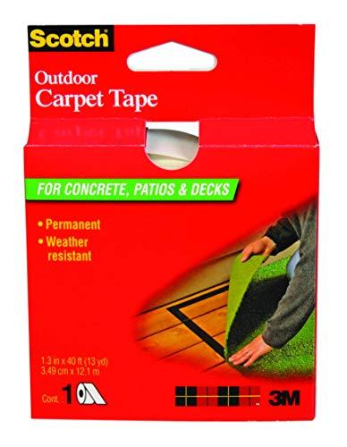 Scotch Outdoor Carpet Tape CT3010, 1.375 in x 13.3 yd ()