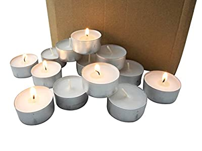 Stonebriar Long Tealight Candles, 6 to 7 Hour Extended Burn Time