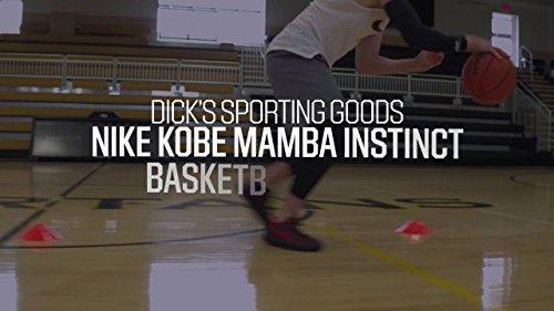 NIKE Mamba Instinct Kobe Bryant Männer Basketballschuhe Grau schwarz