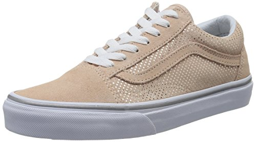 Vans Metallic Dots Old Skool, Color: Rose/Spanish Villa Size: 8 B(M) US Women / 6.5 D(M) US (Spanish Dots)