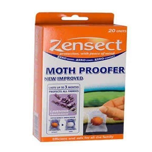 Zensect–Bolas antipolillas para ropa (aroma de lavanda)