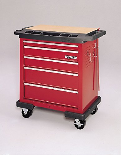 Medline MPH01PC345 Emergency Carts by Waterloo, Red