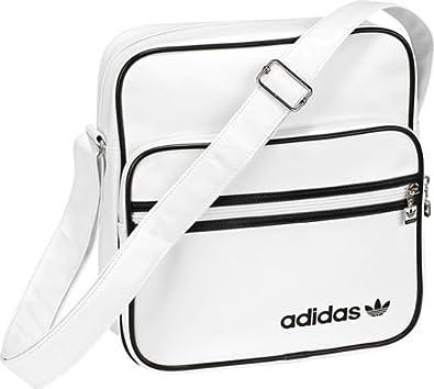 fa8a757fc8 adidas Originals Adicolor Sir - Sac bandoulière mixte - Blanc/Noir ...