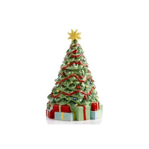 Amazon.com: Martha Stewart Collection Cookie Jar, Holiday Garden ...