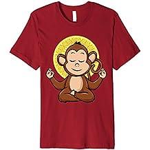 Meditation Monkey Yoga Premium Shirt