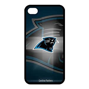 Custom Carolina Panthers NFL Back Cover Case for iphone 4,4S JN4S-1263