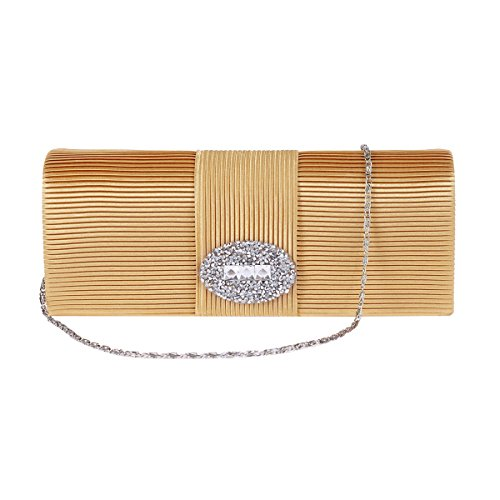 Stripe Damara Damara Womens Front Clutch Black Crystal Purse Womens Intellectual O1Rpxwxq