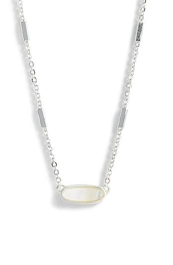 997fccea23ff7 Amazon.com: Kendra Scott. Miya East/West Ivory Mother of Pearl ...