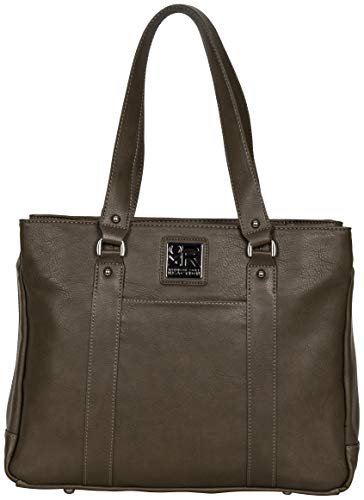 (Kenneth Cole Reaction Hit Women's Pebbled Faux Leather Triple Compartment 15