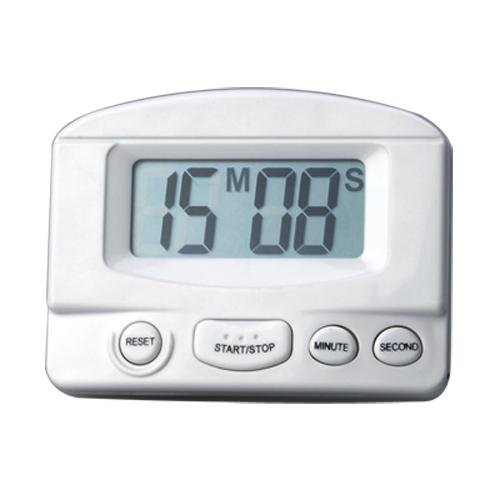 Ecloud Shop 2 pièces NOUVEAU Mini LCD de haute qualité Home Cooking Kitchen Count Down Digital Timer YBC65*2