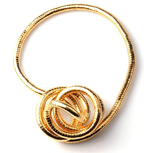 GVUSMIL Bendable Snake Twistable Necklace Bracelet Scarf Holder (Most Wished&Gift Ideas) ()
