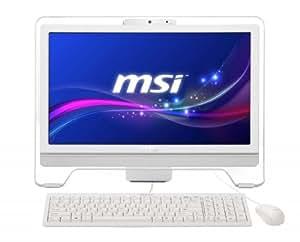 """MSI Wind Top AE2051 1.7GHz E2-1800 20"""" 1600 x 900Pixeles Blanco - Ordenador de sobremesa All in One (50,8 cm (20""""), HD+, AMD E, 4 GB, 500 GB, Windows 8)"""