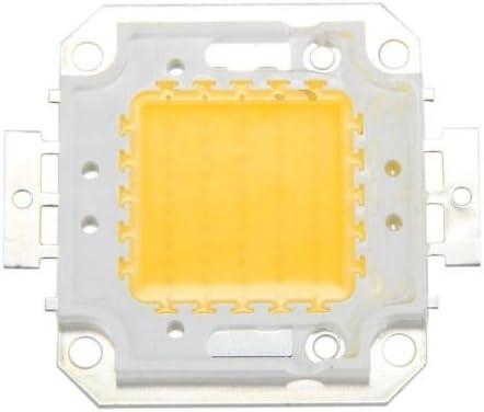 R 50W Chip LED per Lampada Faretto Luce Bianco Caldo 3800LM Alta Potenza DIY SODIAL