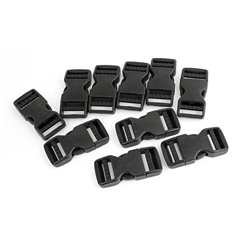 Side Quick Release Buckles - TOOGOO(R) 10 Pcs 1