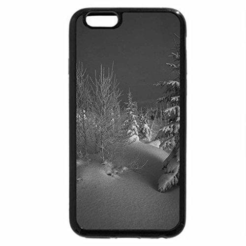 iPhone 6S Plus Case, iPhone 6 Plus Case (Black & White) - December light