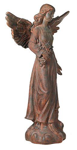 English Tudor Garden Angel 41 1/2'' High Statue by Kensington Hill (Image #2)