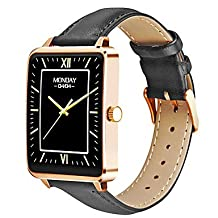 TYs Smart Watch MTK2502C 1.61inch Heart Rate Monitor Pedometer for Android IOS Smartwatch Siri Snyc ConTYsol Wristw