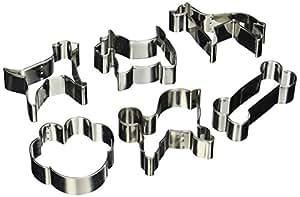 Foxrun Tinplated Steel Dog Cookie Cutter Set