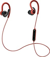 JBL Reflect Contour - Auriculares Intraaurales Inalámbricos, Rojo