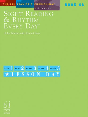 Sight Reading & Rhythm Every Day, Book 4A ebook