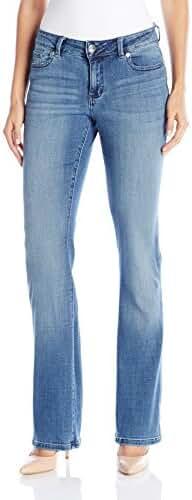 LEE Women's Modern Series Curvy Bootcut Jean with Hidden Pocket