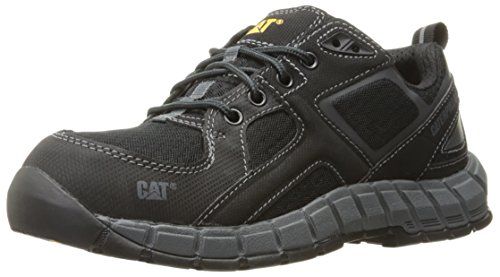 Caterpillar Men's Gain Steel Toe Work Shoe, Black, 8 M US -