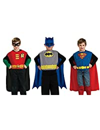 Rubies Costume Co DC Comics Boys Trio Action Set Dress Up Trunk