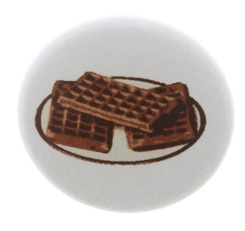 (A&T Designs Waffles on Plate 2.25