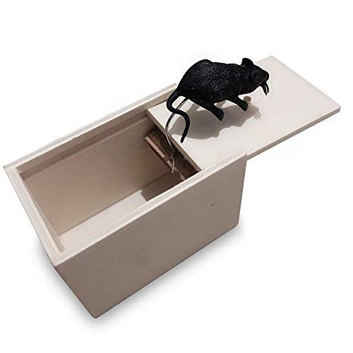 Scary Prank Box,Spider Prank Scare Box,Don't Touch Box,Scary