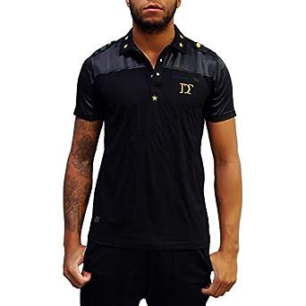 370866c04a Polo Distinct Leader Noir Noir L: Amazon.fr: Vêtements et accessoires