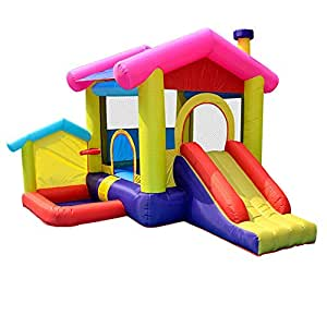 ChengBeautiful Castillo Inflable para los niños Inflables Bastide ...