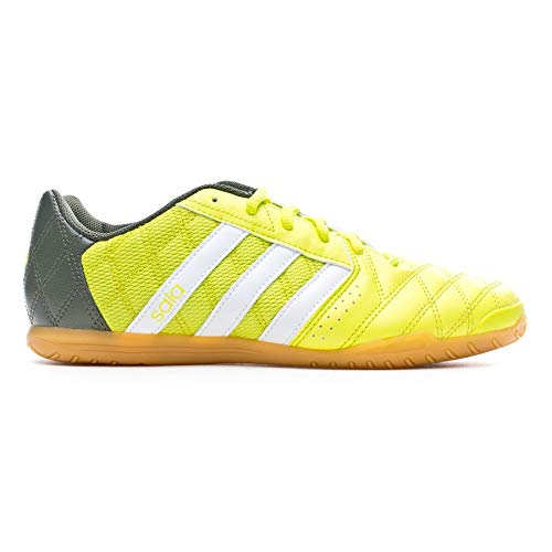 95a7b3d1b2c adidas Supersala, Zapatilla de fútbol Sala, Semi Solar Yellow-White-Base  Green