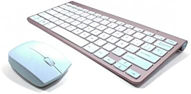 multimedia mini teclado inalámbrico y ratón inalámbrico blanco ,El USB lo encontraras dentro del TECLADO junto a la pila (2.4GHZ,ESPAÑOL)  -Teclado EN ...