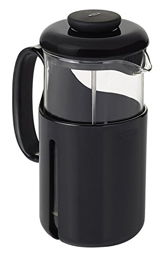 OXO Good Grips Venture Travel French Press with Shatterproof Tritan Carafe, 32 Ounce (8 Cups)