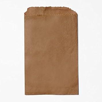 Amazon Brown Kraft Paper Bags Flat Merchandise 10 X 13 Inch