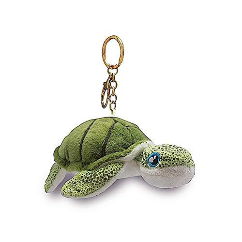 (Welcome to the Islands Key Chain Plush Honu Turtle Green 4.4 W x 2.2 inch H)