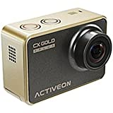 ACTIVEON Digital Camcorder - 2 - Touchscreen LCD - CMOS - Full HD - Gold - 16:9-4x Digital Zoom - Electronic (IS) - HDMI - USB - microSDXC, microSDHC - Memory Card (Certified Refurbished)