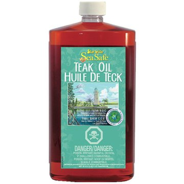 Sea Safe Premium Golden Low V.O.C. Teak Oil