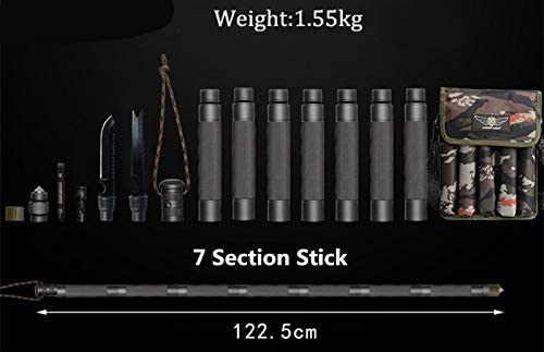 NEW Aluminum alloy key stick Emergency Rescue Defence Survival Outdoor Tool U