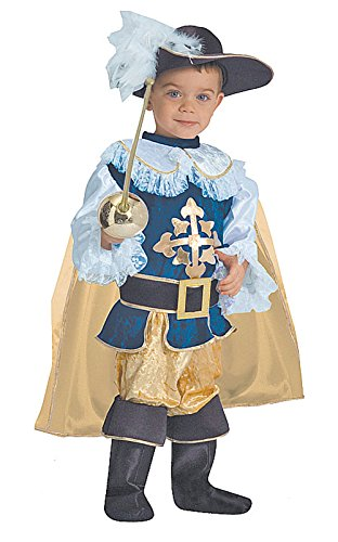 Musketeer Boy's Costume Toddler Child Kid