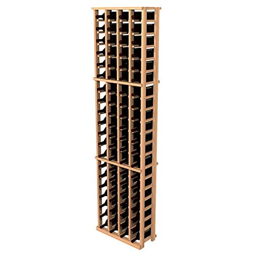 Wine Cellar Innovations Traditional Premium Redwood 4 Column Wine Rack, - 4 Column Premium