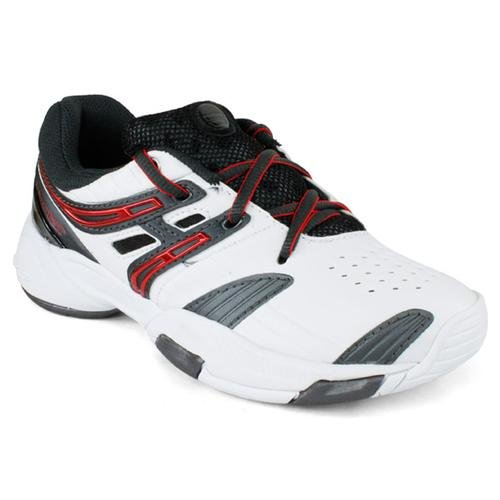 Babolat V-Pro All Court Junior Tennisschuhe weiß/rot/grau