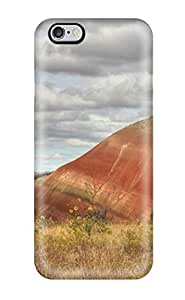 AnnaSanders Design High Quality Butte Earth Clouds Desert Landscape Cliff Sandstone Nature Landscape Cover Case With Excellent Style For Iphone 6 Plus